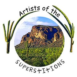 Artists of the Superstitions Logo